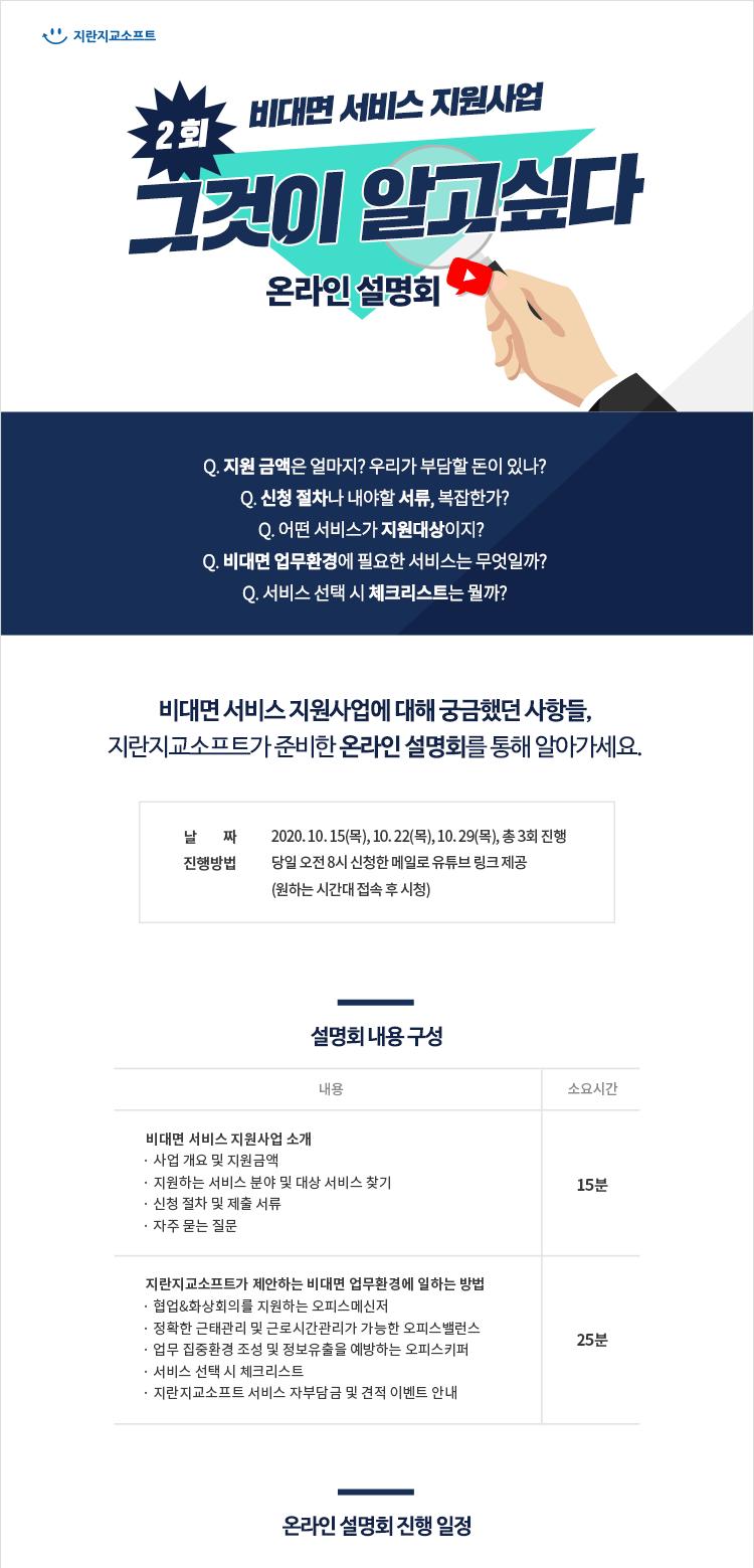 제2회 비대면 서비스 바우처 사업_지란지교소프트_설명회